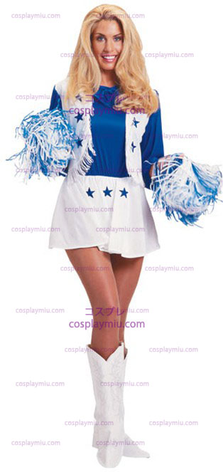 Dallas Cowboy Cheerleaders Vuxen Kostym