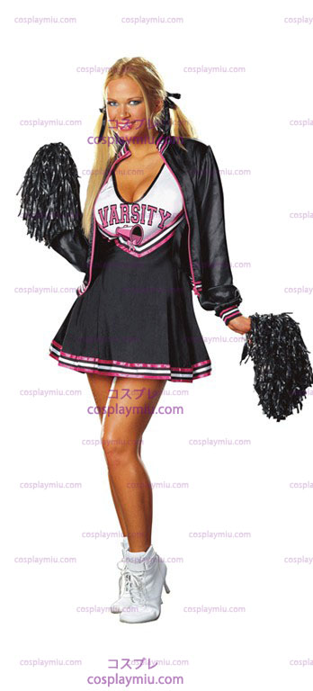 Varsity Cheerleader Adult kostym