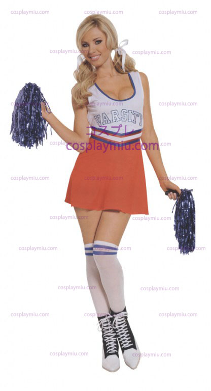 Cheerleader Lagkapten Adult kostym