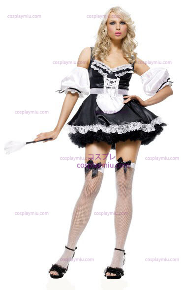 French Maid Sexy Adult kostym