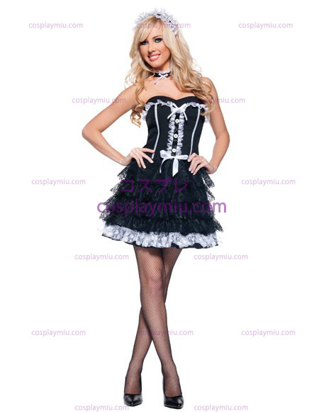 Fifi French Maid Adult kostym