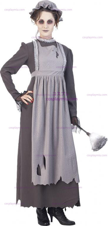 5556c5bc6343 Elsa Ghost Maid Vuxen Kostym: Small Elsa Ghost Maid Vuxen Kostym ...
