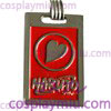 Naruto Heart Red Necklace