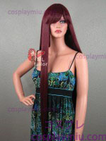"36 ""Straight Burgundy Red Cosplay Peruker"
