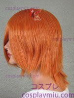 "14 ""Autumn Orange Layered Cosplay Peruker"