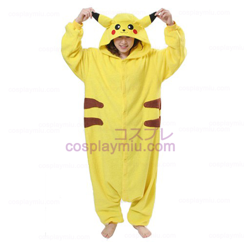 Pokemon Pikachu Kvinnor Cosplay Kostym