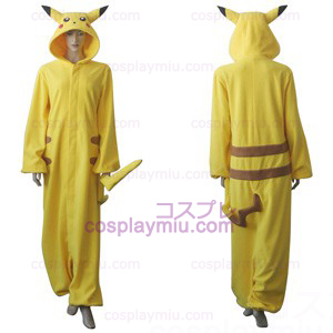 Pokemon Pikachu Cosplay dräkt
