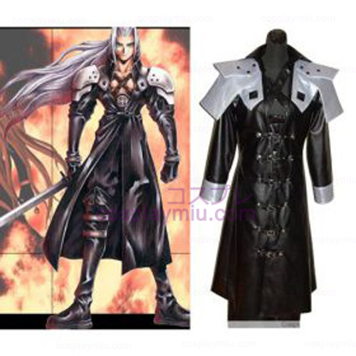 Final fantasy Sephiroth Deluxe Cosplay Kostym