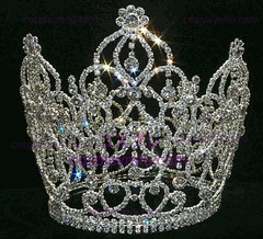 Crystal Crown med Dangles