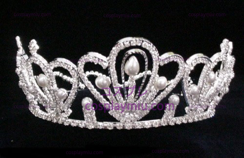 Silver Strass Crown-CT009
