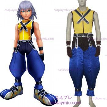 Kingdom Hearts 1 Riku Män s Cosplay Kostym