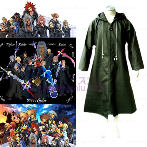 Kingdom Hearts 2 Organisation XIII 13 Cosplay Kostym