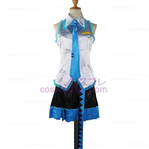 Vocaloid Crypton Halloween Kvinnor Cosplay Kostym