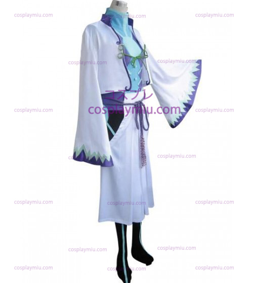 Vocaloid Kamui Gackpoid Cosplay Dräkter - White Edition