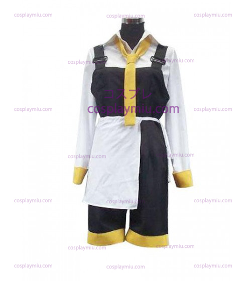 Vocaloid Da Capo Yellow And White Cosplay Kostym