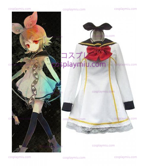 Vocaloid Cosplay Kostym Uniform Dress