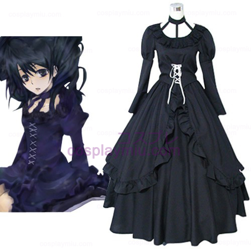 D.Gray Man Lenalee Lee Princess Cosplay Kostym