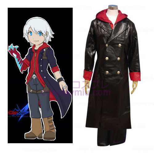 Devil May Cry Nero Cosplay Kostym