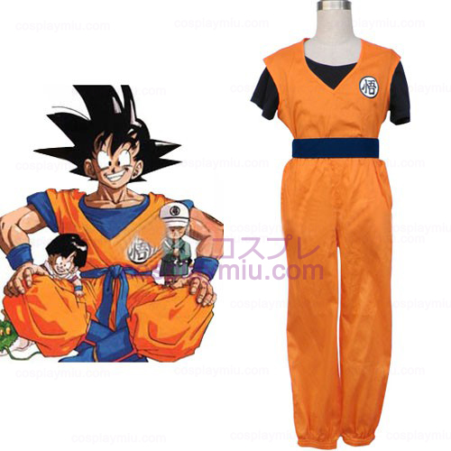 Underbar Dragon Ball Cosplay Kostym