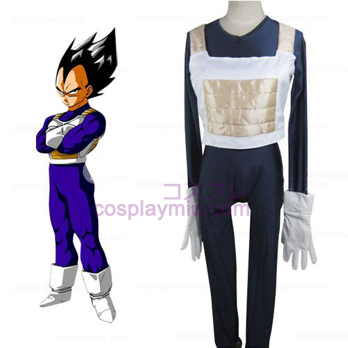Dragon Ball Vegeta Slaget Klänning Cosplay Kostym