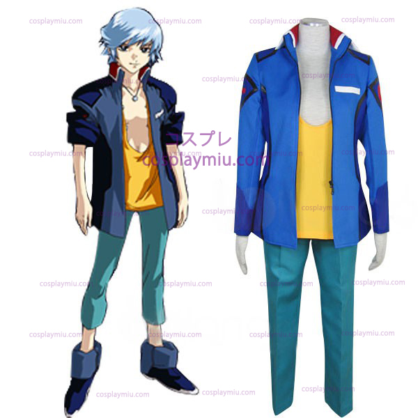 Gundam Seed Destiny jordallians Male Uniform Cosplay Kostym