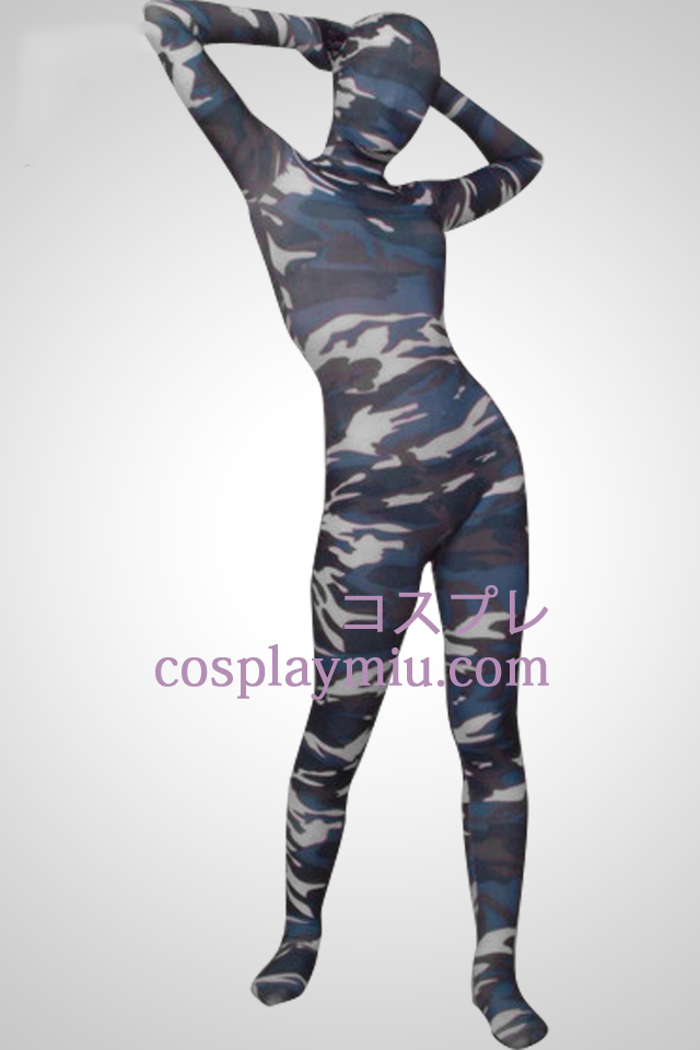 Kamouflage Color Full Body Lycra Zentai Suit